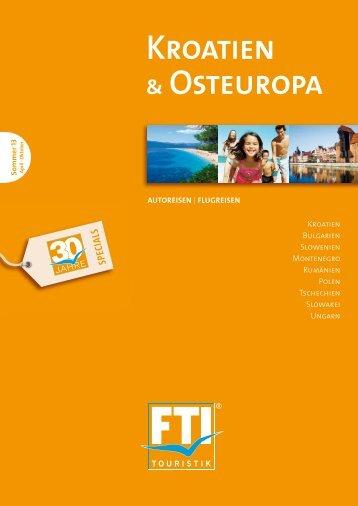 FTI Kroatien Und Osteuropa So13
