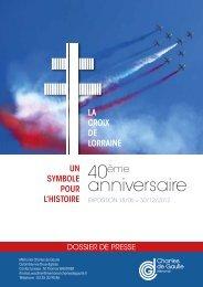 anniversaire - Fondation Charles de Gaulle