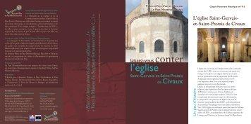L'église de Civaux - (Villes et Pays d'Art et d'Histoire) du Poitou ...