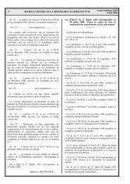 Loi n°08-15 du 20 juillet 2008, fixant les règles de conformité des