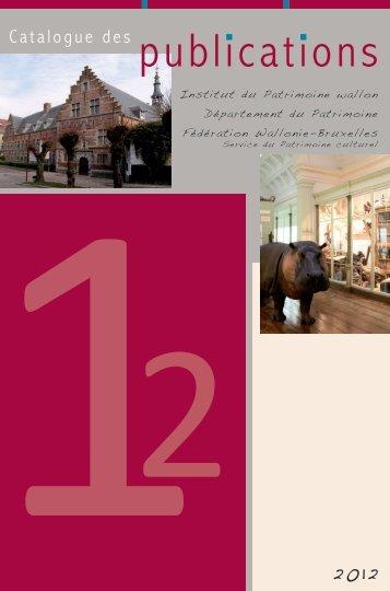 Catalogue des publications