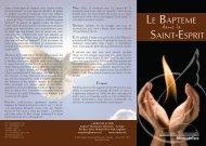 LE BAPTEME SAINT-ESPRIT - Andrew Wommack Ministries