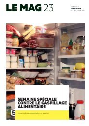le gaspillage alimentaire - France 5