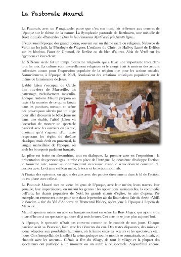 Un patrimoine culturel Provençal