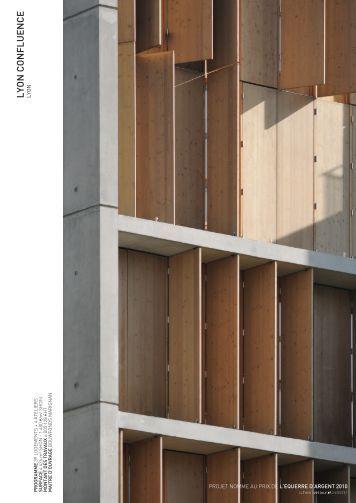 LYON CONFLUENCE LYON - clement vergely architectes
