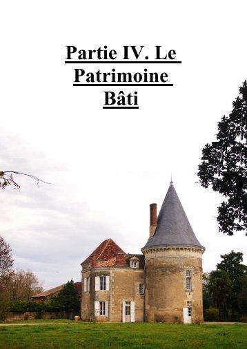 4. Le patrimoine bâti - Mairie de Coulounieix-Chamiers, site officiel