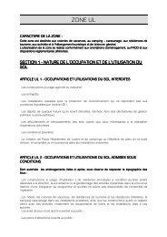 Zone UL modif 4-3 du 25 février 2013 - Olonne-sur-Mer