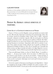 Nadjaf Al-Ashraf : espace spirituel et temporel