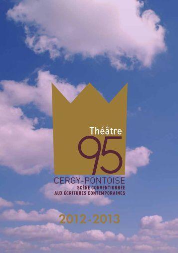 plaquette de saison 2012-13 - Théâtre 95