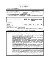 Hidraulica - Construcţii Civile Industriale şi Agricole - Universitatea ...