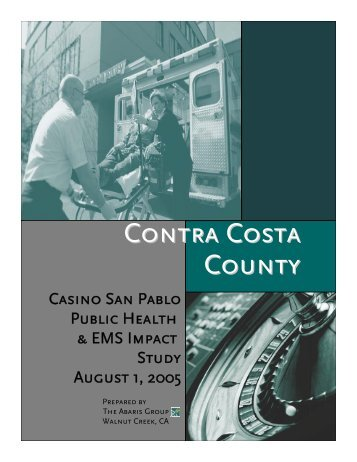 Casino San Pablo Public Health and EMS Impact Study