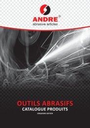 Catalogue Produits (PDF) - Andre Abrasive Articles