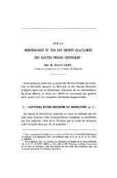 Il 1 I - Revue de géologie alpine