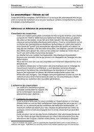 Le pneumatique : liaison au sol - Educauto.org