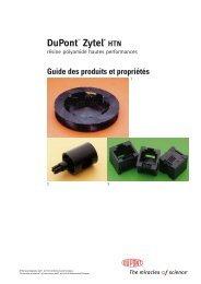 zytel - Plastics, Polymers, and Resins - DuPont