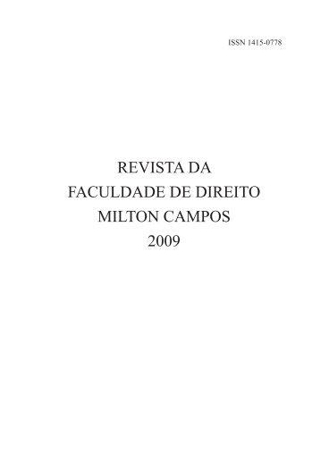 00 abertura milton.indd - Milton Campos
