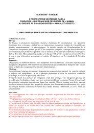 Groupe 3 - La Fondation Droit Animal,éthique et sciences-LFDA