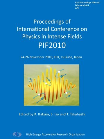 Proceedings of International Conference on Physics in ... - KEK