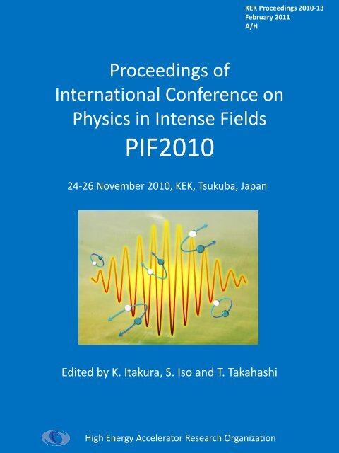 Proceedings of International Conference on Physics in     - KEK
