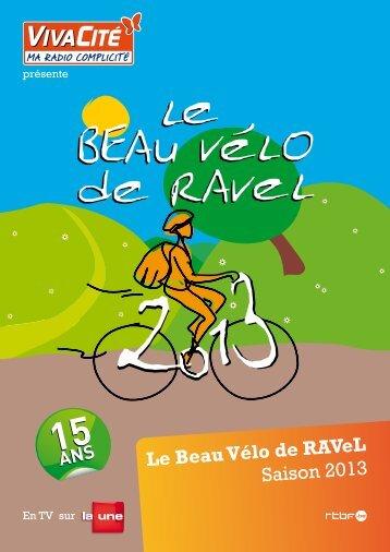 Le Beau Vélo de RAVeL Saison 2013 - CPAS - Wanze
