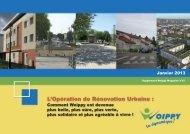 L'Opération de Rénovation Urbaine : - Woippy