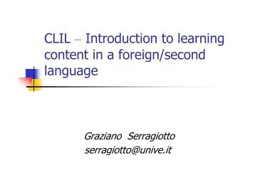 download the presentation - CCLL: Common Constitution and ...