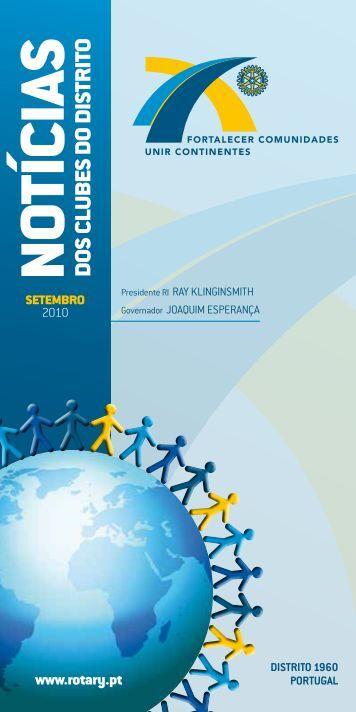 Carta Setembro - Convenção Internacional de Rotary Lisboa 2013
