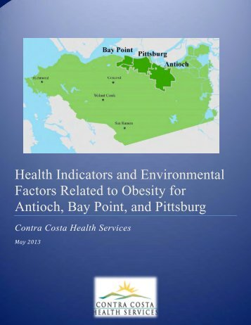 Health Indicators and Environmental Factors Related to Obesity for ...