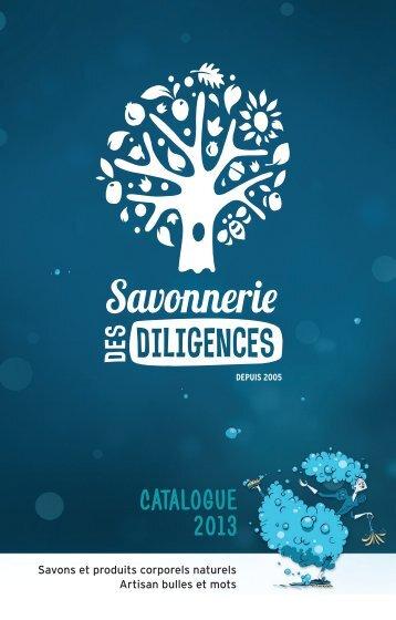 imprimez notre catalogue produits - Savonnerie des Diligences