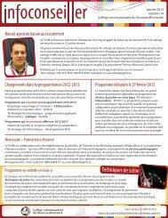 Numéro 14 - janvier 2012 - CCNB