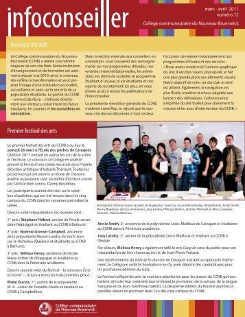 Numéro 12 - mars-avril 2011 - CCNB