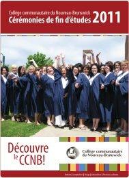 Cérémonies de fin d'études 2011 - CCNB