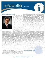 6 e édition - mai 2007 - CCNB