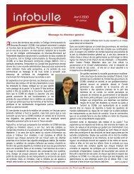17 e édition - avril 2010 - CCNB