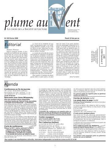 Edition - Societe de Lecture Geneve