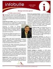 14 e édition - juin 2009 - CCNB