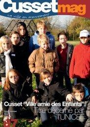 """Cusset """"Ville amie des Enfants"""" - Ville de Cusset"""