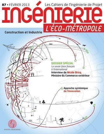 Télécharger le Cahier de l'Ingénierie 87 - Syntec ingenierie