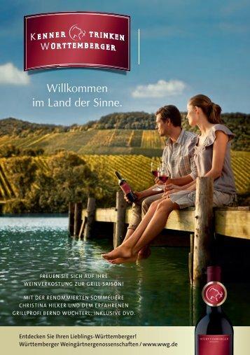 Vergrößer' den Genuss - Weinland Württemberg