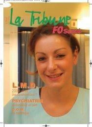 La Tribune FO Santé N°60