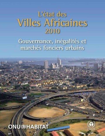 l'etat des villes africaines - UN-Habitat