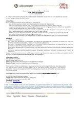 Superviseur ou superviseure des Services financiers CCNB ...