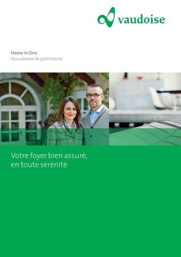 Brochure - Vaudoise Assurances