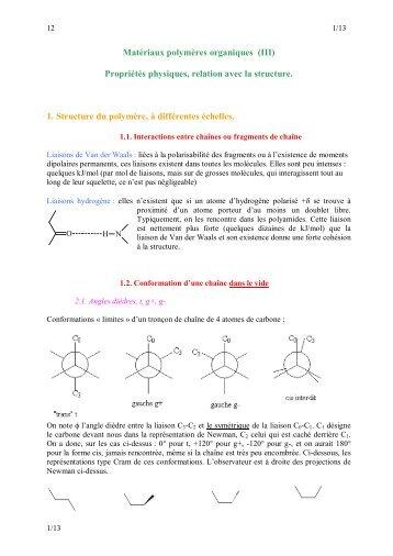 Polymères (3) - Index of