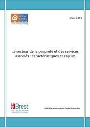 Etude - Le secteur de la propreté, caractéristiques et enjeux