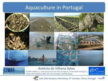 Aquaculture in Portugal - CCMAR - Universidade do Algarve