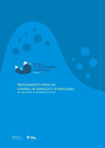 Regulamento da Plataforma de Serviços do CCMAR