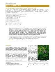 Glycyrrhiza glabra - A multicentric clinical verification study