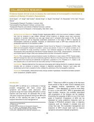 Evidence based clinical study to assess the usefulness of ...