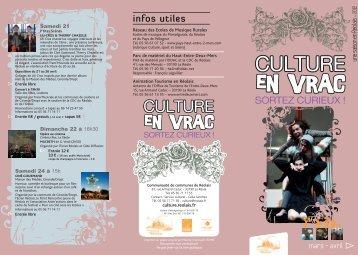 Organisé par Trans'Musicale et la commune - Culture en vrac ...